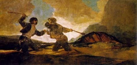 Goya Duelo a Garrotazos1